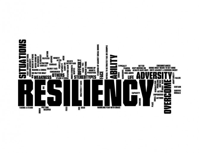 We all need to be resilient
